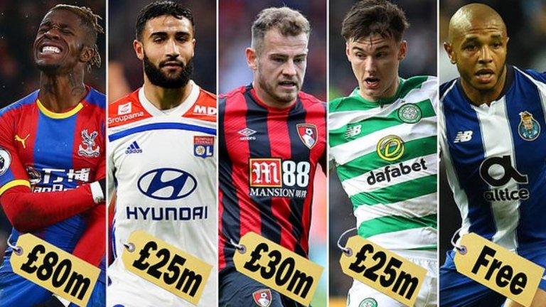 Естествено, трансферните цели на Арсенал не се изчерпват с тези пет имена, но те са основни приоритети за Емери това лято