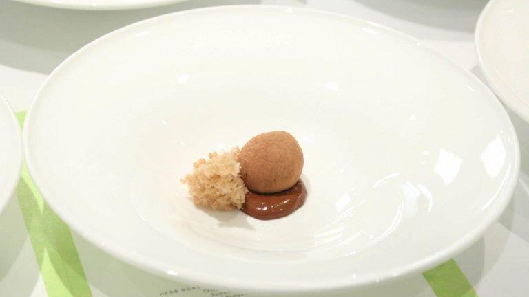Това са част от ястията, които могат да бъдат опитани в другия му популярен ресторант - Per Se в Ню Йорк.