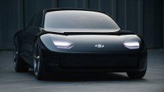 И автомобил, който изглежда като дете на Porsche и Tesla