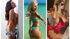 Модели на Playboy, актриса, ринг момиче на UFC и други красавици: Сексуалните завоевания на Неймар