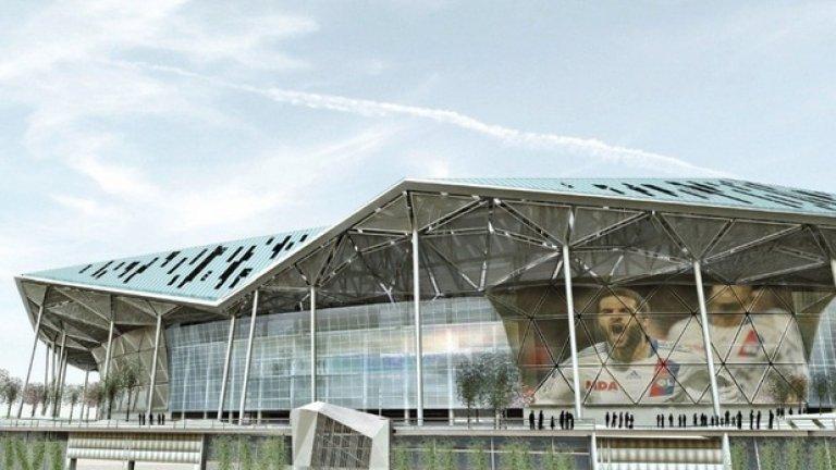 """""""Стад де Люмиер"""" ще бъде с 59 000 седящи места, което е със 17 000 седалки повече от капацитета на """"Жерлан"""""""