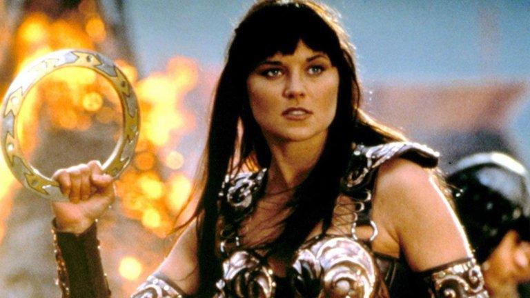 """Xena: Warrior Princess / """"Зина - принцесата войн""""  Защо, защо не. Отново - имаме подходяща среда за правене на сериали за силни и смели жени, а Зина е точно това. Тя бяга от своето болезнено минало, обикаля древния свят и се бие със злодеи и чудовища, спасява слабите и наказва несправедливостите. Освен това залага на гръцката митология, която в последно време е позанемарена от Холивуд. Ако се развие добре една основна история и сериалът се сбие в 6-8 епизода на сезон, от """"Зина - принцесата войн"""" може да стане шоу за чудо и приказ."""