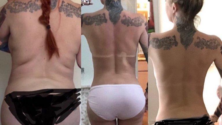 Кето-диетата и трансформацията на Джена Джеймисън