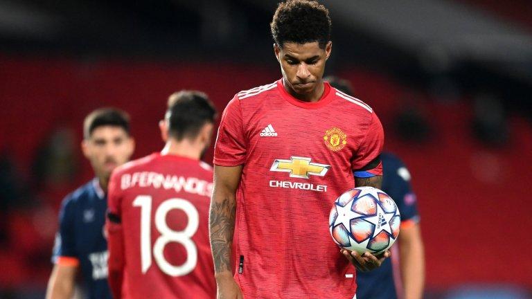 Сладко отмъщение за Юнайтед, Рашфорд лиши Бруно от хеттрик