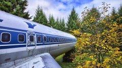 "Брус Кемпбъл живее в пенсиониран самолет ""Бойнг"" модел 727-200 (ГАЛЕРИЯ)"
