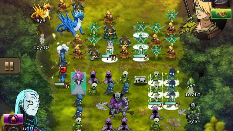 Might and Magic: Clash of Heroes (iOS/Android)  Започнала като Nintendo DS ексклузив, Might and Magic: Clash of Heroes бързо придоби популярност и бе преиздадена за PS3 и Xbox 360, след което намери начин да достигне и до iOS и Android. Причината - играта наистина е добра.  Тя е интересна комбинация от ролева игра и пъзел, включващ елементи от познатите на всеки мобилен потребител Match-3 игри, като всичко това е във вселената на прочутата фентъзи поредица. Ако искате подобна игра, която обаче да е добре изпипана и да не ви тормози с микротранзакции, Might and Magic: Clash of Heroes не трябва да се изпуска.