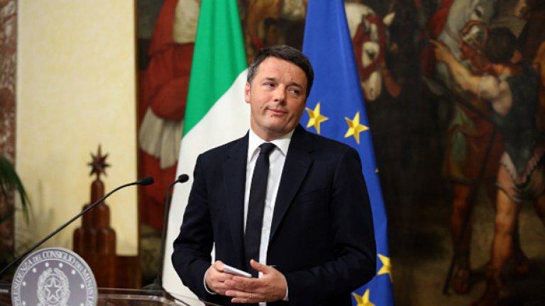 """14. Матео Ренци Бившият италиански премиер отново излезе напред на политическата сцена - този път като крайъгълен камък на крехката коалиция между антисистемното движение """"5 звезди"""" и Демократическата партия. След като конструира тази невероятна допреди няколко години коалиция, той се отцепи от партията си, за да сформира собствена политическа сила - либералната """"Вива Италия"""". А междувременно привлече със себе си достатъчно депутати от Демократическата партия, че да се окаже в ролята на този, който държи ключа към стабилността на кабинета.  Малцина очакват от Ренци да предизвика нови избори в скоро време, особено като социолозите показват едва 5 процента подкрепа за партията му. Но бившият премиер не направи никакви усилия да прикрие амбициите си да направи за Италия това, което Еманюел Макрон направи във Франция: да наруши традиционното политическо статукво сред партиите по пътя си към върха на държавата (отново).  Към момента той се е съсредоточил върху това да привлече към себе си недоволните от партията на друг бивш италиански премиер - Силвио Берлускони, за да се утвърди стабилно в центъра. Степента, в която той успява, ще определи не само съдбата на италианското правителство, но и политиката на страната в продължение на месеци, ако не и години напред."""