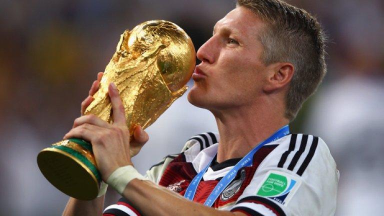 ... като разбира се, на първо място сред тях е вдигането на световната купа през 2014 г.