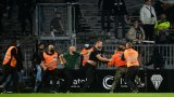 Отново безредици на мач във Франция (видео)