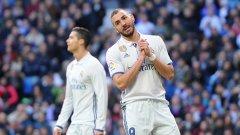 За да се бори в първенството и Шампионската лига, Реал има нужда от повече голове от Бензема и Роналдо, чиято ефективност доста е спаднала