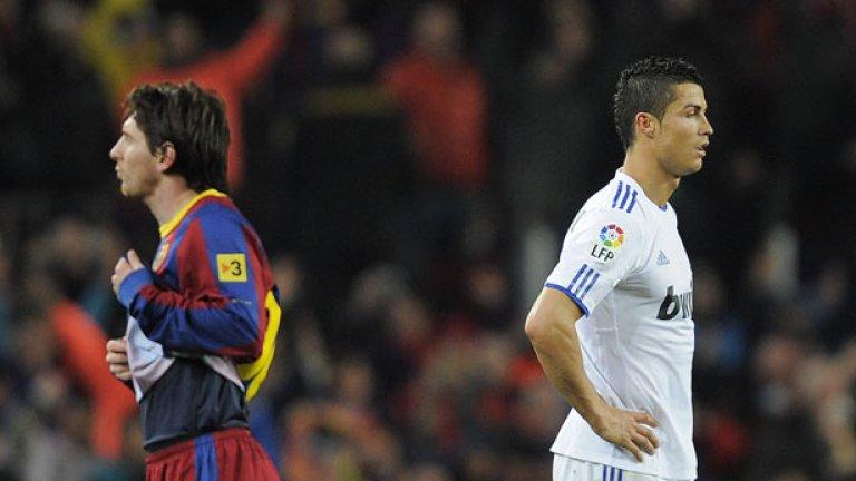 Кристиано Роналдо спечели титлата с Реал, но Лионел Меси отново успя да го засенчи