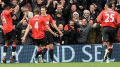 Майкъл Карик отбеляза втория гол за победата в Лондон