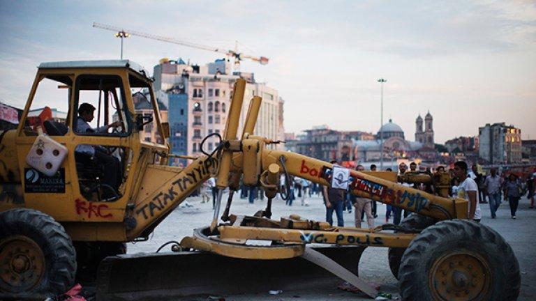 Една година от протестите в парка Гези
