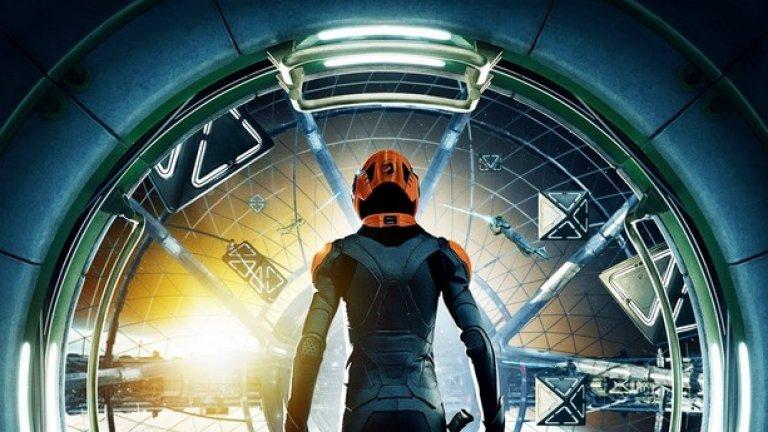 Играта на Ендър 2013  Във филма: Екранизацията по романа на Орсън Скот Кард беше осъществена близо 30 години след излизането на книгата. Главният герой е дете с огромни тактически способности при военни действия и трябва да поведе човечеството в битката му срещу нападащите го извънземни.   В реалността: Разработването на автономни оръжейни системи – оръжия, контролирани от определени алгоритми, е все по-актуална тема. Твърди се, че до 2030-2040 г. четвърт от американските войници ще бъдат заменени с роботи и дронове. Технологиите обичайно играят огромна роля на бойното поле и не е невъзможно да си представим в бъдеще цели войни, водени от компютри и контролирани от дистанция.