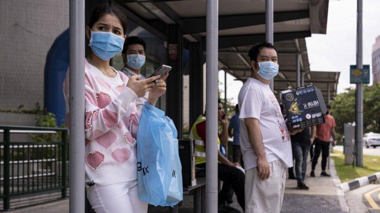 Сингапур   В Сингапур животът остава традиционно скъп.   Но се наблюдава и отлив на чуждестранни работници по време на пандемията. Така за за първи път от 17 години населението там бележи спад