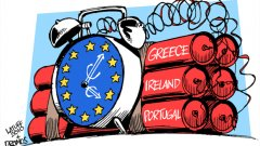 Пожар в еврозоната...
