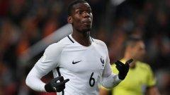 Далечен шут в 30-ата минута и слаба намеса на вратаря осигуриха победния гол на Погба и важна крачка за французите към първото място в група А