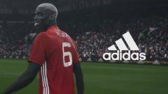 Новата реклама на adidas разказва за живота на Пол Погба