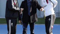 Веднъж посетих Карло Анчелоти, докато беше начело на Реал, и, знаете ли кой беше там и вече тренираше половин час преди тренировката? Кристиано Роналдо.