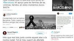 Спортният свят се обедини срещу тероризма в Каталуния