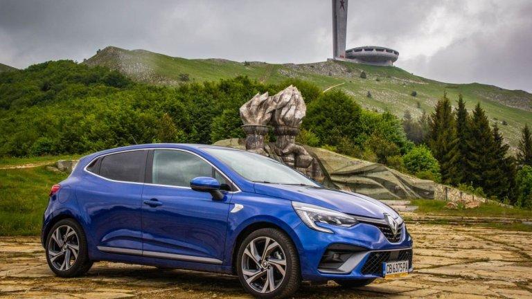 800 км и едно пътешествие до Бузлуджа по-късно - какви са впечатленията ни от Renault CLIO R.S. Line TCe 130 EDC
