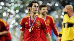 """""""Спартанецът"""" Арбелоа спечели две индивидуални класации на Евро 2012 - за най-много шпагати и за най-фаулиран играч"""