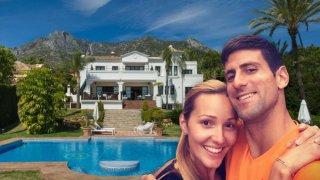 Добре дошли в луксозната вила на Новак Джокович в Испания, за която плати 10 млн. евро