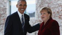 Обама посочи, че е обнадежден от уверението на Тръмп, че запази ангажиментите си към НАТО.