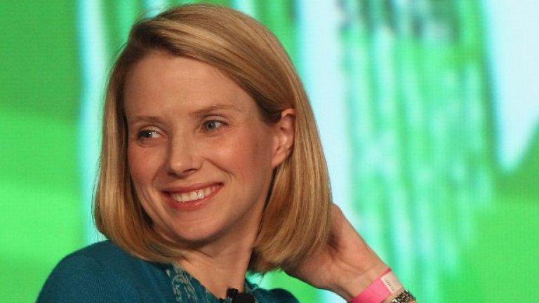 Yahoo е само поредният пример за затъващ технологичен гигант, разчитащ на женски мениджмънт