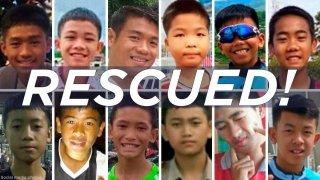 Историята за спасяването на 12-те деца и техния футболен треньор от пещера в Тайланд скоро може да се превърне във филм. Но в Холивуд вече има примери за екранизиране на спасителни операции по истински случаи. Ето някои от тях: