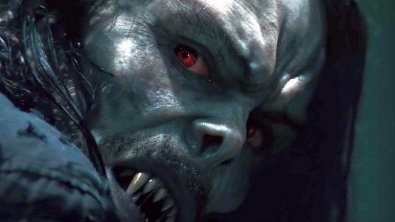 """Morbius Премиера: 8 октомври (поредно отлагане) Вселена: Вселена на Sony с герои на Marvel  Още един филм по линиятa """"враг на Спайдър-мен е антизлодей"""". Джаред Лето влиза в ролята на д-р Майкъл Морбиъс, който страда от рядко генетично заболяване. Той прибягва до рисков метод за лечение, което обаче го заразява с форма на вампиризъм. Морбиъс се сдобива с изключителни сили, но и с жажда за кръв, което ще го изправи и срещу ФБР. Освен Лето във филма ще видим Мат Смит (Doctor Who), Тайрис Гибсън (поредицата """"Бързи и яростни"""") и дори Майкъл Кийтън, който видяхме като Лешояда в """"Спайдър-мен: Завръщане у дома""""."""