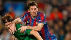 Ансалди участва в знаменитата победа на Рубин (К) срещу Барселона