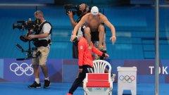 Епитропов завърши предпоследен в полуфиналите на 200 м бруст