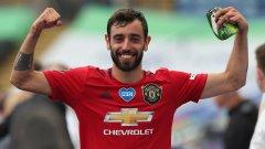 Статистиката доказва: Бруно носи на гръб Юнайтед и Оле