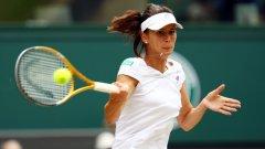 """И без национален тенис център Цвети Пиронкова стигна до 1/2-финал на """"Уимбълдън"""""""