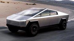 """Tesla Cyberpunk   Илон Мъск със сигурност знае как да привлече вниманието и да накара всички да говорят за Tesla. Обикновено е заради изпипаните до последния детайл модели на бранда, но ситуацията със Cyberpunk не е точно такава.   Пикапът се хвали с невероятна мощност, по думите на Мъск е """"по-бърз от Porsche 911 и по-мощен от Ford F-150"""". Всичко това обаче е скрито под смущаващо неприятна опаковка. Cyberpunk пикапът доведе до лавина от мемета за дизайна му и това че изглежда като рисуван от шестгодишно дете. В най-добрия случай можем да го наречем странен, в най-лошия – откровено грозен."""