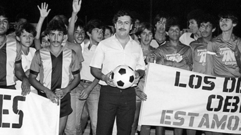 Пабло Ескобар обожаваше футбола, но по свой начин