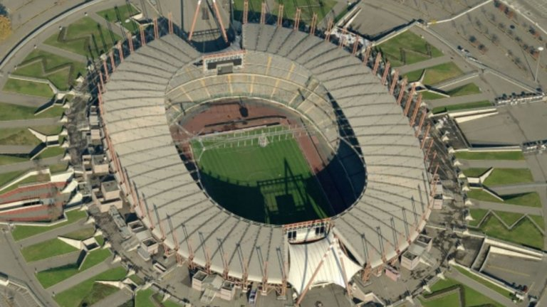 "Старият стадион на Ювентус ""Деле Алпи""."