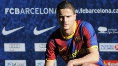 Ибрахим Афелай вече записа първите си минути като играч на Барселона