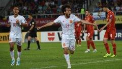 """ъпреки по-скромния резултат """"ла фурия"""" не срещна никакви трудности на а стадион """"Филип Македонски II"""" в Скопие и държеше всичко под контрол през цялото време."""