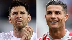 Новият етап от великото съперничество започна приказно за Роналдо и разочароващо за Меси