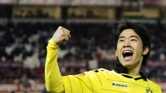 Шинджи Кагава се чувства добре в жълтото на Борусия, което не може да се каже за червеното на Манчестър Юнайтед.