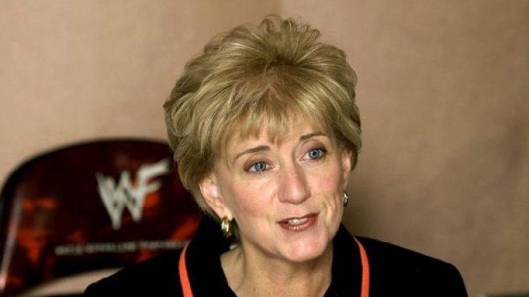 Образът на Линда Макмеън днес няма нищо общо с кечистката от тепиха