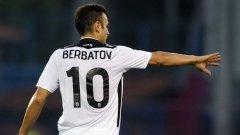 Бербатов и ПАОК записаха второ поредно равенство в Лига Европа
