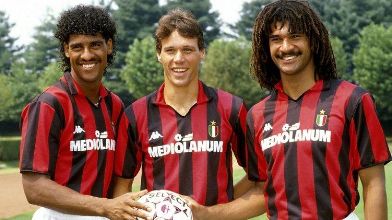 Къде са те сега: Великото холандско трио, което караше хората да се влюбват във футбола