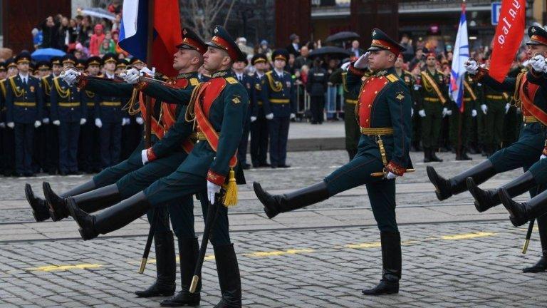 Денят на победата на Червения площад в Москва