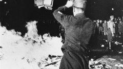 Денят, в който нацисти изгориха хиляди книги