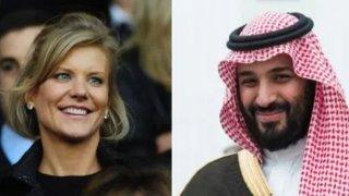 Аманда Стейвли и Мохамед бин Салман са много близо до придобиването на Нюкасъл