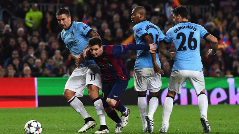 """Това е първи 1/4-финал в Шампионската лига за Манчестър Сити. """"Гражданите"""" стигнаха до 1/8-финалите през предишните два сезона, но на два пъти бяха отстранявани от Барселона."""