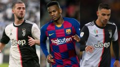 Юве дава двама играчи + 25 млн. евро за бек на Барса, искан от Сити